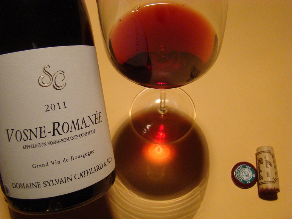 wine tasting journal template - 2011 sylvain cathiard vosne roman e wine and lifestyle